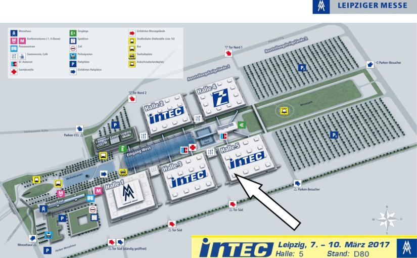 Besuchen Sie uns auf der Intec in Leipzig