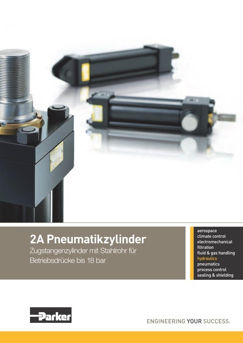 2A-Pneumatikzylinder