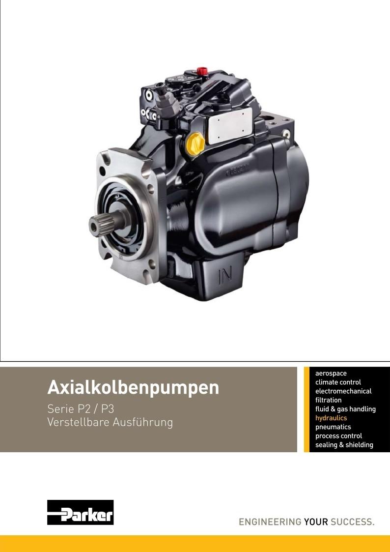 Axialkolbenpumpe Serie P2, P3