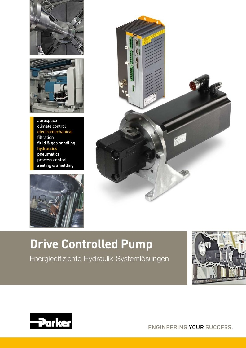 Drive Controlled Pump
