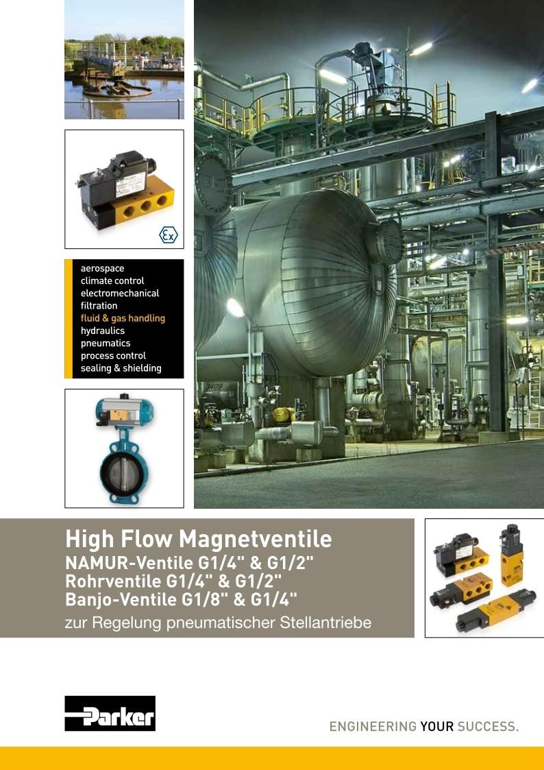 High Flow Magnetventile