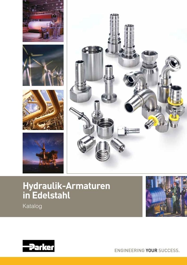 Hydraulik-Amaturen Edelstahl