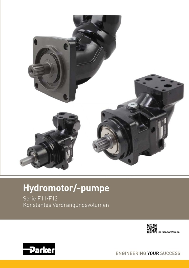 Hydromotor, Pumpe F11, F12