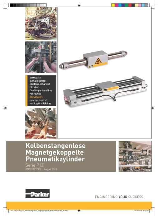 Kolbenstangenlose-Pneumatikzylinder P1Z