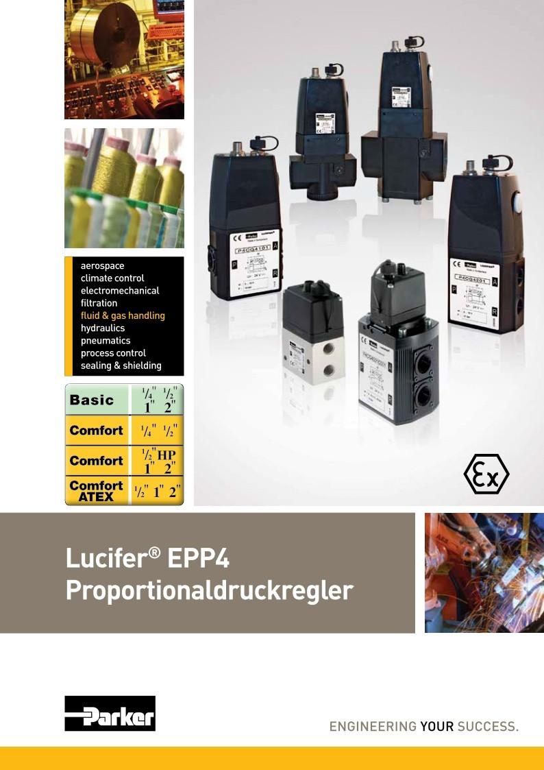 Lucifer Proportionaldruckregler EPP4