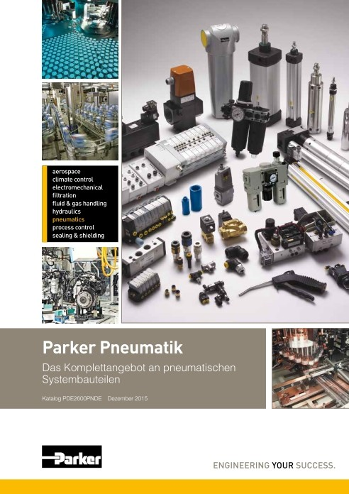 Parker Pneumatik Komplettkatalog