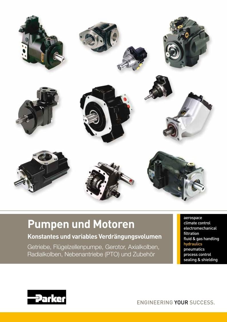 Parker Pumpen und Motoren