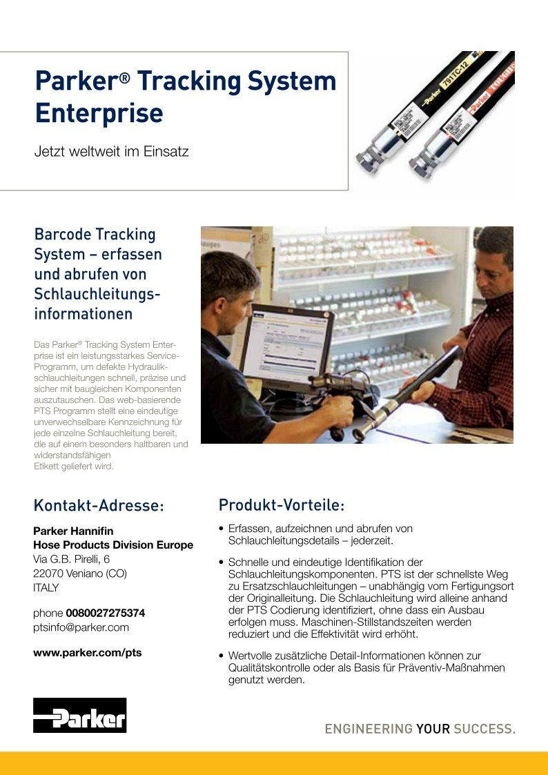 Parker Tracking System